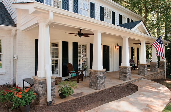 Porches With Stone Archives Gfp
