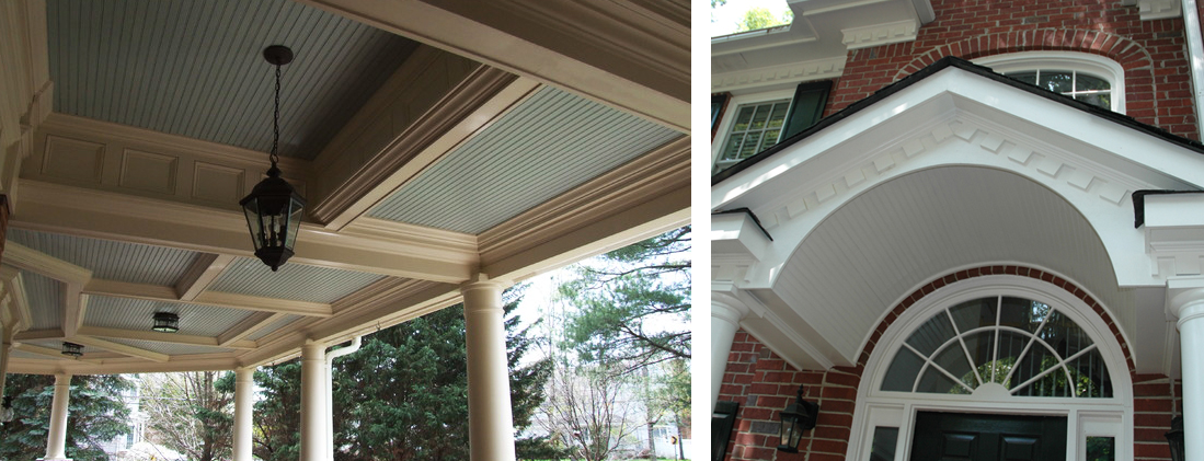front porch ceilings
